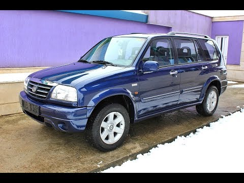 Suzuki Grand Vitara XL7 2.7 V6 173hp 2002