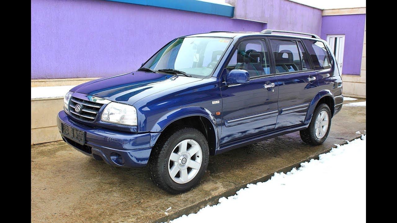 Suzuki Grand Vitara Xl7 2 7 V6 173hp