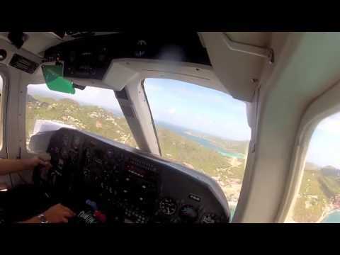 St. Martin to St. Barths Full Flight - BN2 Islander