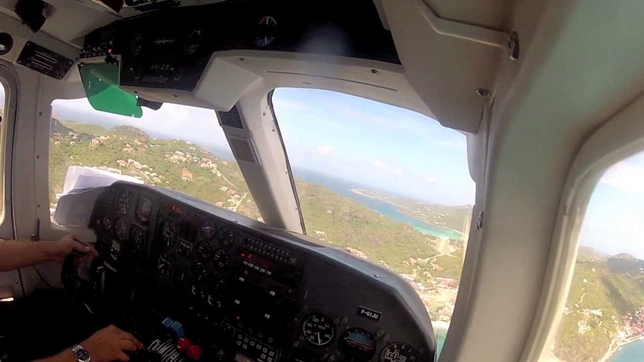 Download St. Martin to St. Barths Full Flight - BN2 Islander