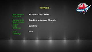 2019 EPA Tour 4 - Final - Mike King v Sam Bircher