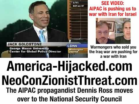The AIPAC propagandist Dennis Ross moves over to t...