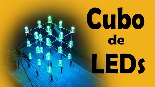 Video Cómo Hacer Cubo De LED 3x3x3 (muy fácil de hacer) download MP3, 3GP, MP4, WEBM, AVI, FLV Oktober 2018
