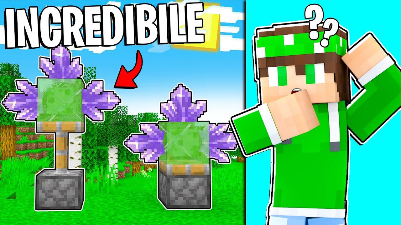 QUESTO VIDEO DI MINECRAFT È *INCREDIBILE*! - Minecraft ITA