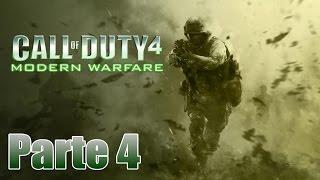 Call of Duty 4: Modern Warfare Gameplay Español Parte 4 - Pc 1080p 60 fps - No Comentado