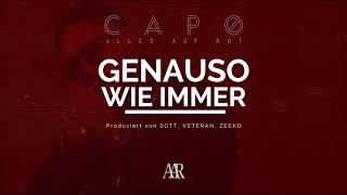 CAPO - GENAUSO WIE IMMER (prod. von Jimmy Torrio, SOTT, Veteran & Zeeko) [Official Audio]