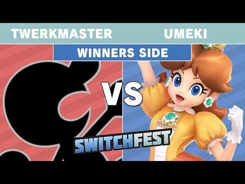SwitchFest 2019 - Twerkmaster (Mr. Game & Watch) Vs. Umeki (Daisy) Winners Side - Smash Ultimate