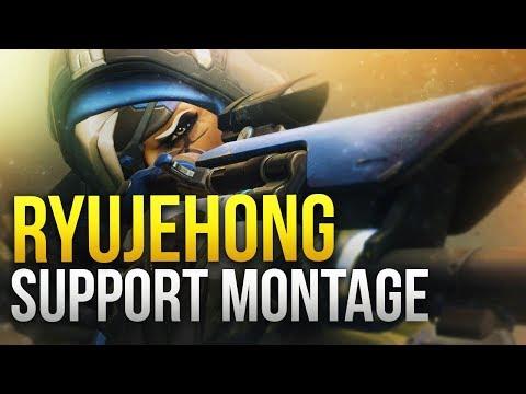 Ryujehong - World Class Support Montage - GOD Ana / Zenyatta - Overwatch Montage