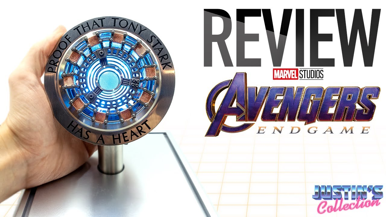 HCMY Studios Iron Man Arc Reactor Iron Man Movie Props 1//1 Replica Avengers Tony