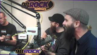 Times of Grace - Willing LIVE on 98Rock Baltimore