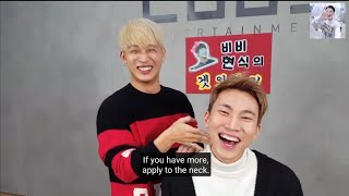 Download [Engsub] BTOB Hyunsik makeover Eunkwang funny ㅋㅋㅋ They cannot stop laughing lolll
