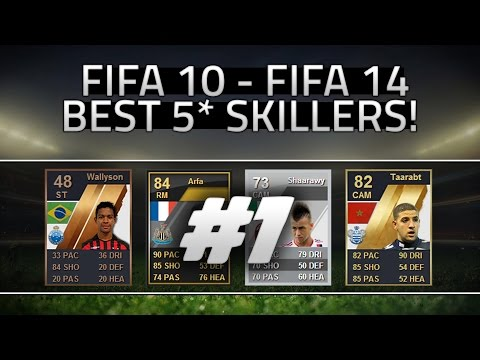FIFA 10 - 14 | BEST 5* SKILLERS! HOW HAVE THEY CHANGED?