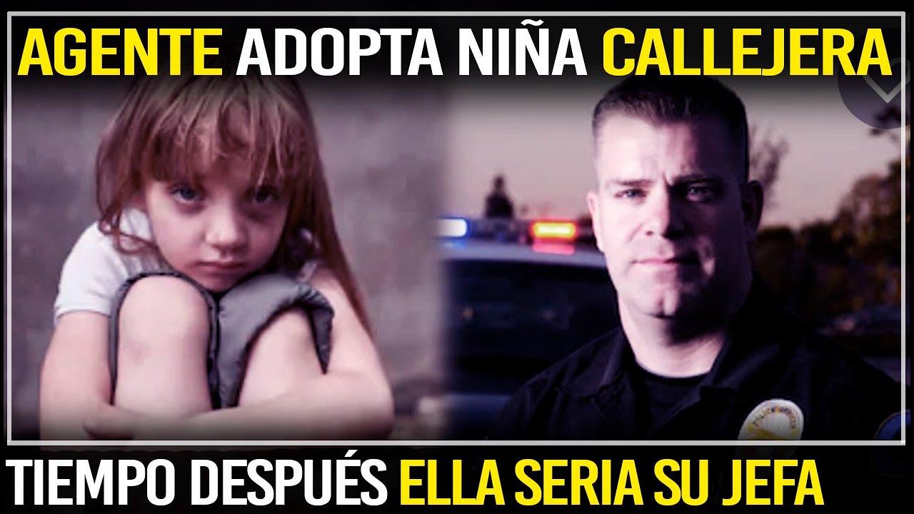 Agente Adopta Una Niña Callejera Que Después Se Convierte En Su Jefa