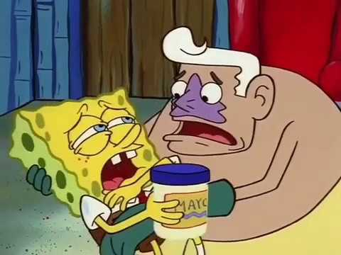 Spongebob Mayo Jar