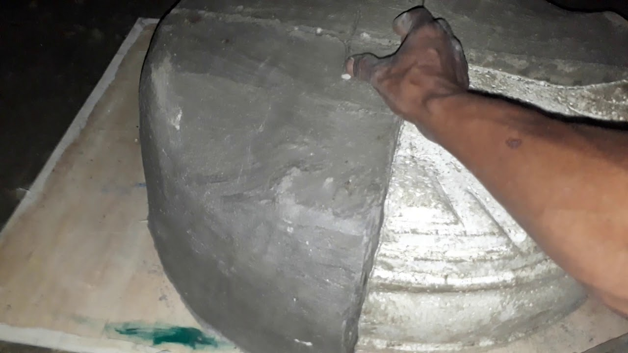 Proses pembuatan cetakan pot bunga - YouTube ca8402e28c