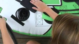 Tube Inflation Instructional with Tarah-O'Brien Watersports