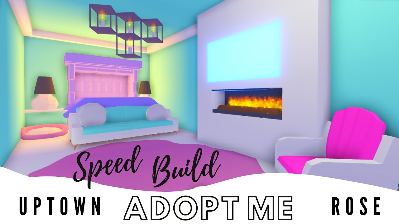 Adopt Me Speed Build Adopt Me Estate House Adopt Me Bedroom Adopt Me Building Hacks Youtube
