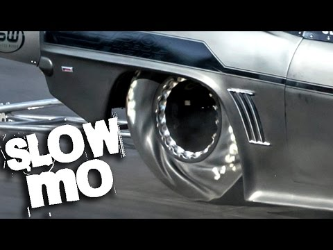 SLOW MOTION Drag Racing