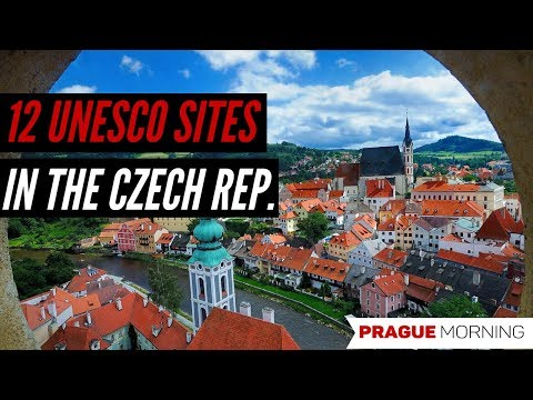 The 12 UNESCO World Heritage Sites in the Czech Republic