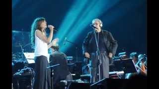 Franco Battiato & Alice - I treni di tozeur (live Mandela Forum, Firenze)