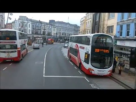 Welcome To Cork, City Centre Part 1 Bus Ride