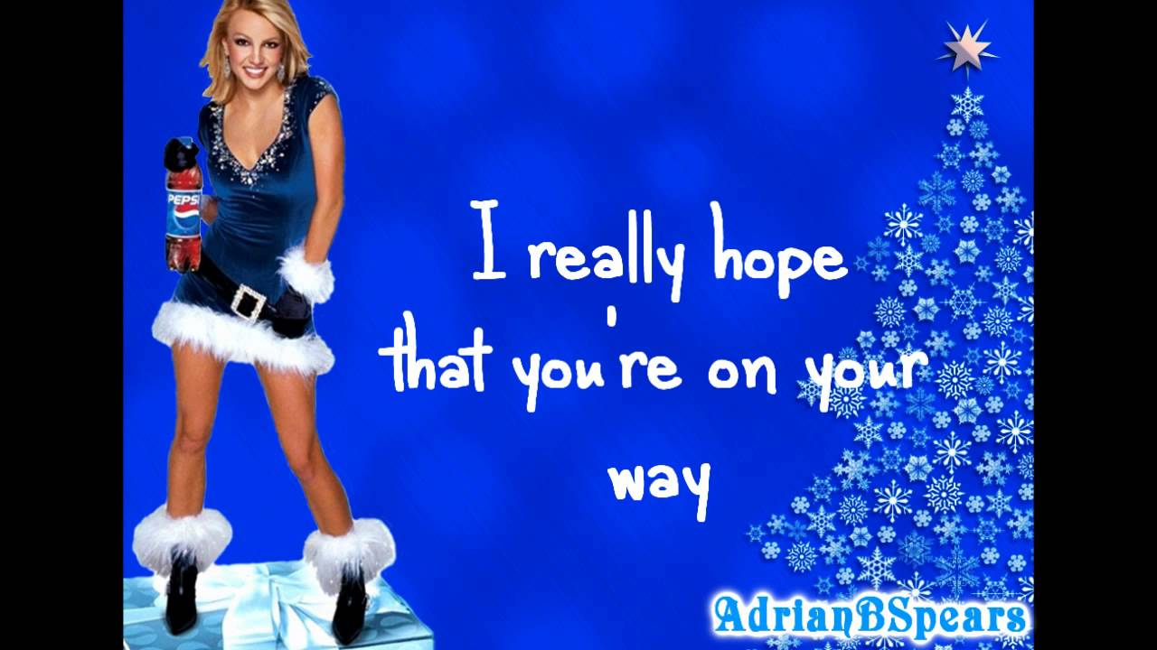 Britney Spears - My Only Wish (This Year) [Lyrics] - YouTube