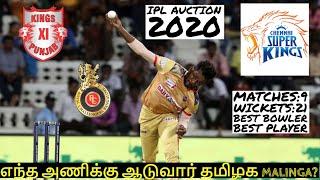 IPL 2020 | IPL NEWS: WHO WILL PICK TNPL MALINGA? |CSK,MI,RCB,KKR,SRH,RR,KXIP,DC NEWS| IPL NEWS TAMIL
