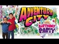 Adventure City Birthday Party: Look Who's Traveling