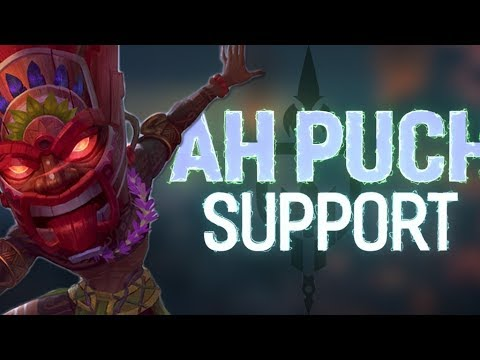 AH PUCH SUPPORT: BRINGING BACK THE DIRTY BUBBLE! - Incon - Smite