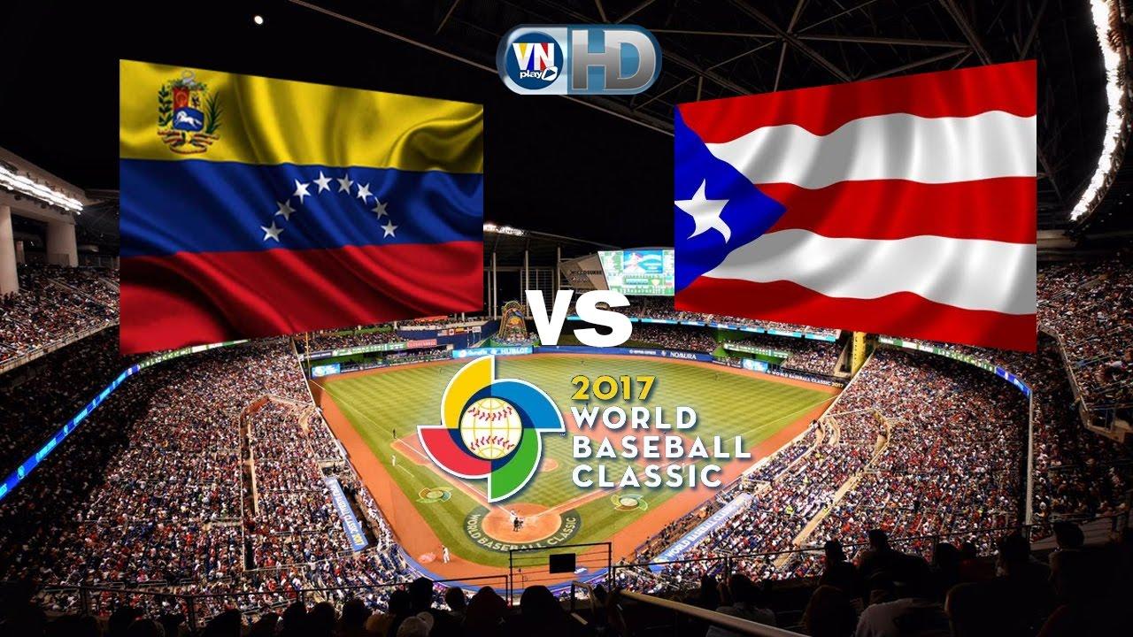 Venezuela vs Puerto Rico en vivo Clasico Mundial 3pm  YouTube