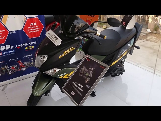 Yamaha Scooter New Colors|Fascino,Alpha,Ray Z,ZR,Tricity 125,N MAX