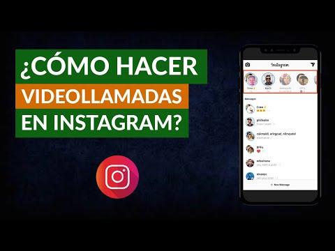 Cómo Activar y Hacer Videollamadas de Instagram Fácilmente