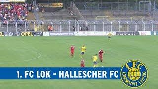 Testspiel | 1. FC Lok Leipzig - Hallescher FC am 22.07.2018