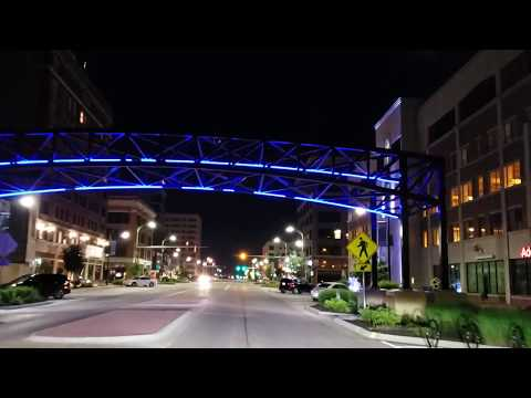 Topeka Kansas At Night