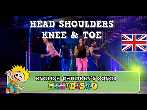 Children's Songs | Dance | HEAD, SHOULDERS, KNEE & TOE | Minidisco thumbnail