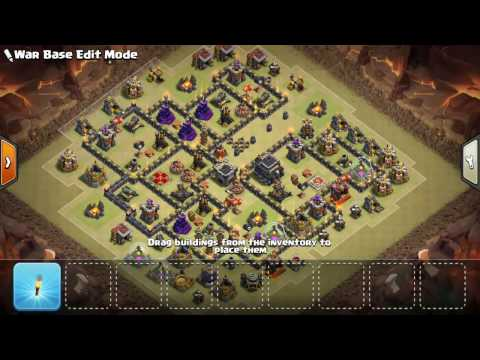 Th9 War Base With Replays 2016 With Bomb Tower Anti 3 Star/Anti 2 Star Anti Everything