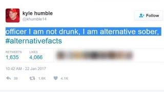 Internet mocks 'alternative facts'