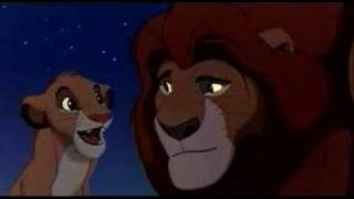 Lion King - Mufasa and Simba (English)