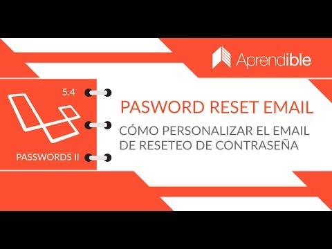 05 - Cómo personalizar el email de reseteo de contraseña - YouTube 05af73af2f4