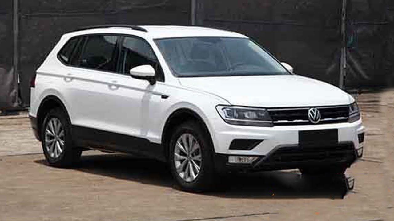2017 volkswagen tiguan xl 7 seater suv spied youtube. Black Bedroom Furniture Sets. Home Design Ideas