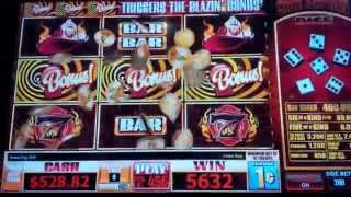 Blazin' Bucks Slot Machine Bonus - Dalmatian Found!