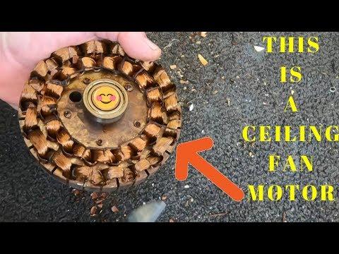 Ceiling Fan - Sell Motor or Scrap for Copper?