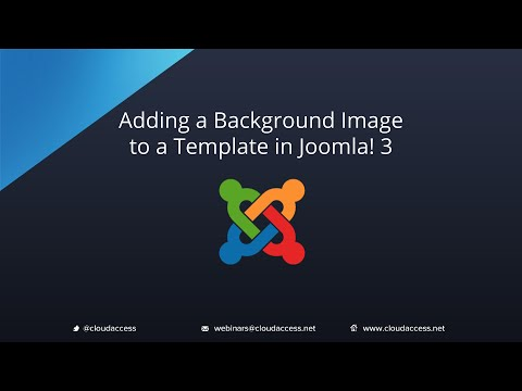 how to upload a template in joomla - adding an background image to a template joomla 3 0