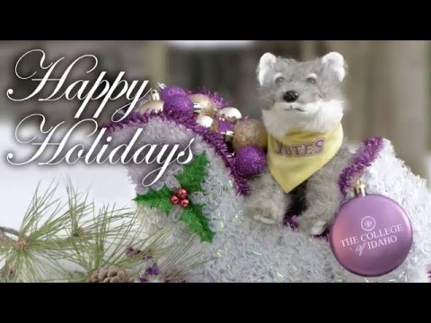 Happy Holidays From The College of Idaho