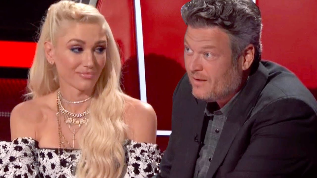 Gwen Stefani, Blake Shelton sweetly perform 'Happy Anywhere' at ...