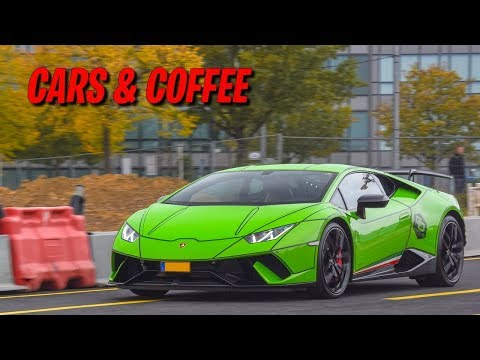 SUPERCARS ACCELERATION !! Cars&Coffee Luxembourg les départs !!