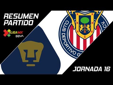 Resumen | Pumas 1 - 8 Guadalajara | eLiga MX - Clausura 2020 - Jornada 16 | LIGA BBVA MX