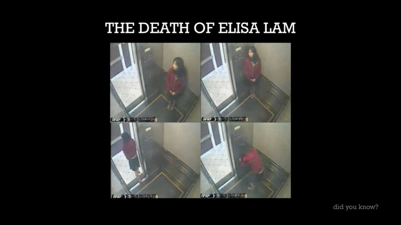 mysterious death of elisa lam The mysterious death of elisa lam in february 2013, after hotel residents complained of funny-tasting, discolored water and poor water pressure, 21-year-old elisa.
