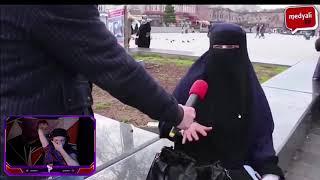 PurpleBixi AKP İslamı Temsil Etmiyor Diyen Kadını İzliyor