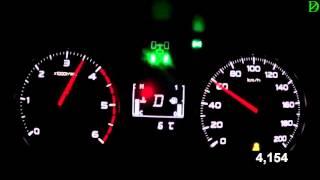 Mistubishi L200 New Acceleration 0-100 km/h (Racelogic)